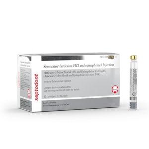 Septocaine Cartridge 4% w/ Epi-Septodont-Dental Supplies