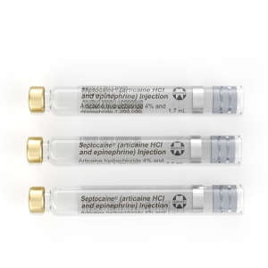 Septocaine Cartridge 4% w/ Epi-Septodont-Dental Supplies