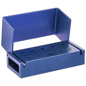 Bur Blocks 15 Hole Blue - MARK3 - Dental Supplies