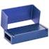 Bur Blocks 15 Hole Blue - MARK3 - Dental Supplies
