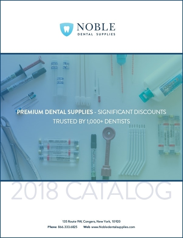 Noble Dental Supplies 2018 Catalog-Dental Supplies