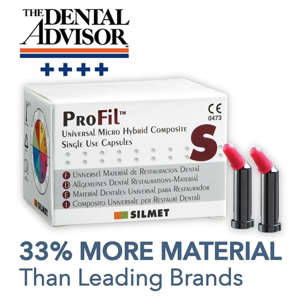 ProFil Unidose Hybrid Composite .315gm 20/pk - Silmet - dental supplies