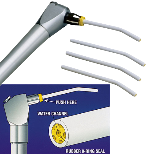 Air Water Syringe Tips White (Seal Tight Replacement) 1500/pk - MARK3
