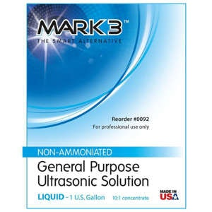 MARK3 Ultrasonic Solution Label - Noble Dental Supplies