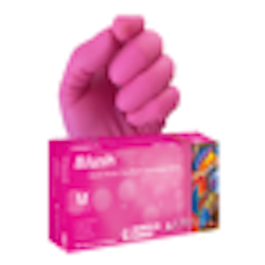 Blush Nitrile Exam Gloves Aurelia - Noble Dental Supplies