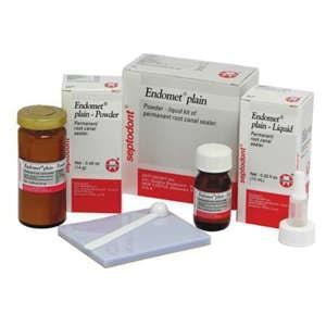Endomet® plain Zinc Oxide Eugenol Endodontic Cement - Septodont - dental supplies