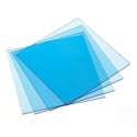 Splint Material Clear 5x5 & Round - Keystone Industries - dental supplies