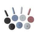 Deluxe Silicone Points & Wheels 100/pk - Keystone Industries - dental supplies