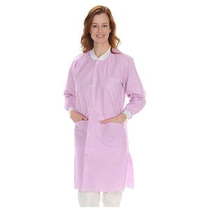 Protect Plus Lab Coats Knee Length 10/pk - MARK3 - dental supplies