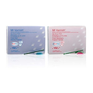 MI Varnish®  - Fluoride Varnish 50/pk - GC America - dental supplies