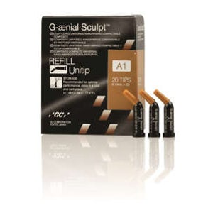 G-aenial Sculpt | Universal Nano Hybrid Composite Unitip Refill - GC America