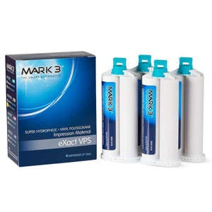 eXact VPS Impresion Material 4/pk - MARK3 - dental supplies