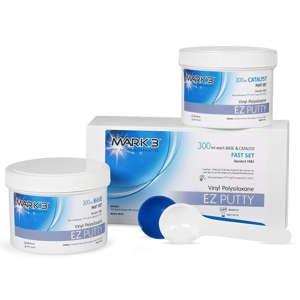 EZ VPS Impression Putty 600ml - MARK3 - dental supplies