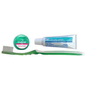 Sensitive Patient Bundle - Toothbrush, Floss and Toothpaste - dental supplies