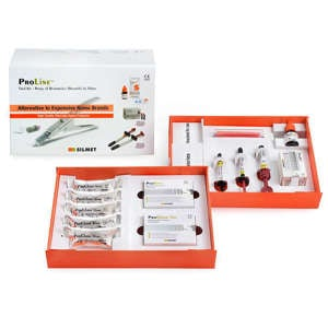 ProLine Restorative Trial Size Intro Kit - Silmet - dental supplies