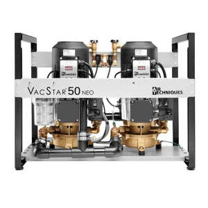 VacStar 50 NEO Vacuum System 4 user 1HP (205/240V) - Air Techniques