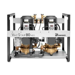 VacStar 80 NEO Vacuum System 7 user 2HP (205/240V) - Air Techniques