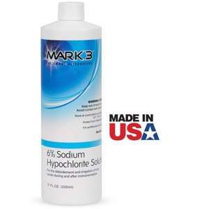 Picture of Sodium Hypochlorite Solution 6% 17oz. Bottle - MARK3