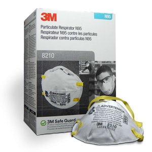 Picture of N95 Particulate Respirator Mask 8210 - 3M
