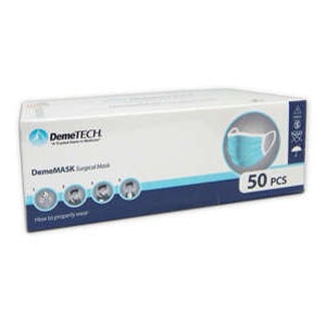 DemeMask Surgical Mask Blue Level 3 - 50/bx. - DemeTech
