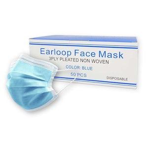 Earloop Face Masks 50/bx Level 1 - Cargus International