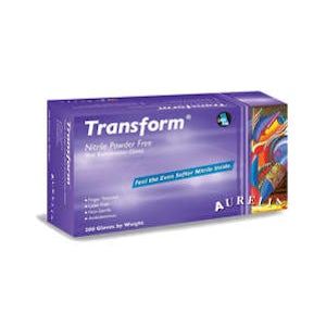 Transform Nitrile Powder-Free Examination Gloves 200/pk - Aurelia