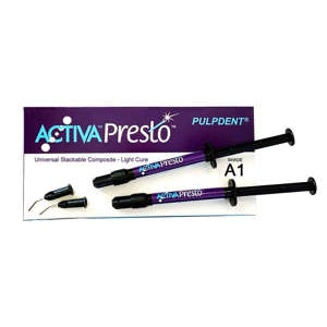 ACTIVA PRESTO Universal Stackable Composite - Pulpdent