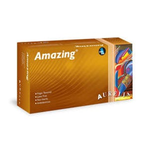 Amazing Nitrile Powder Free Gloves 2.0 mil. 300/bx. - Aurelia