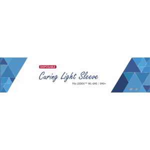 Curing Light Sleeves Large For Entire Light 100/pk. for WL-090+  10 x 2.8 x 1.2 in. - Dentmate