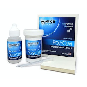 Picture of PolyCem Polycarboxylate Cement Powder & Liquid Kit - MARK3