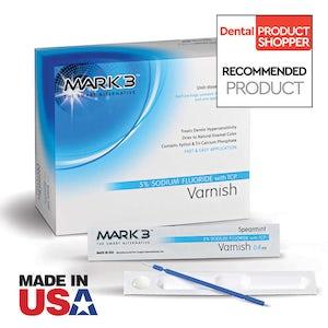 MARK3 Varnish 5% Sodium Fluoride w/TCP-50bx-Mark3-Dental Supplies